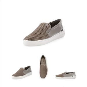 Michael Kors - Suede/Leather Slip on